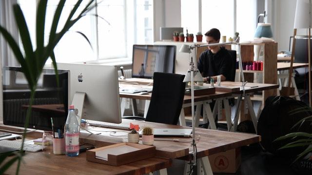 Job retention scheme - office building